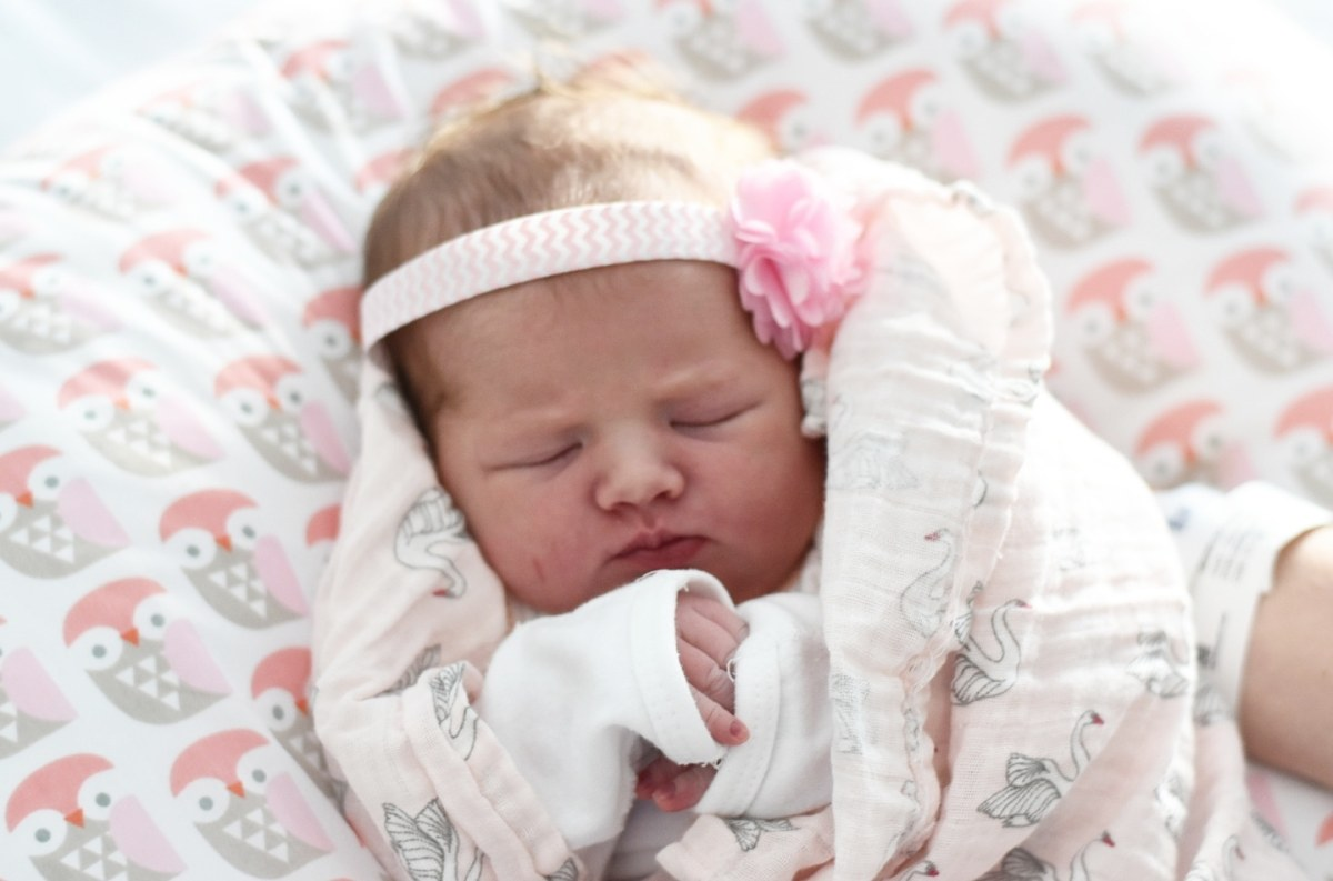 Charlotte Chloe's Birth Story.